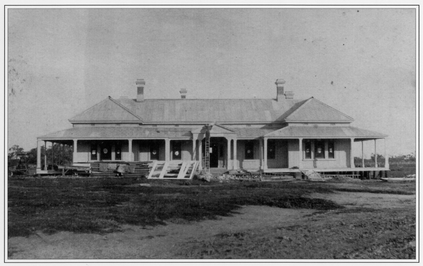 The newly completed Bishop's Lodge in 1889